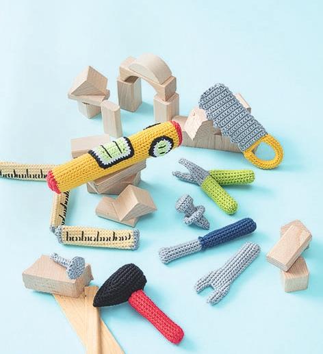 Häkeln für kleine Handwerker – haekelnfuerdiekinderkueche